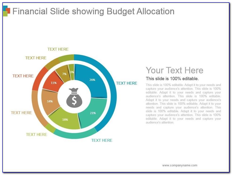 Financial Budget Presentation Template