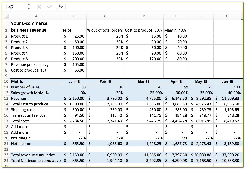 Financial Proposal Sample Pdf