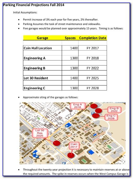 Financial Report Excel Template Download