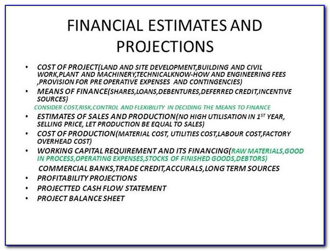 Financial Report Format Excel