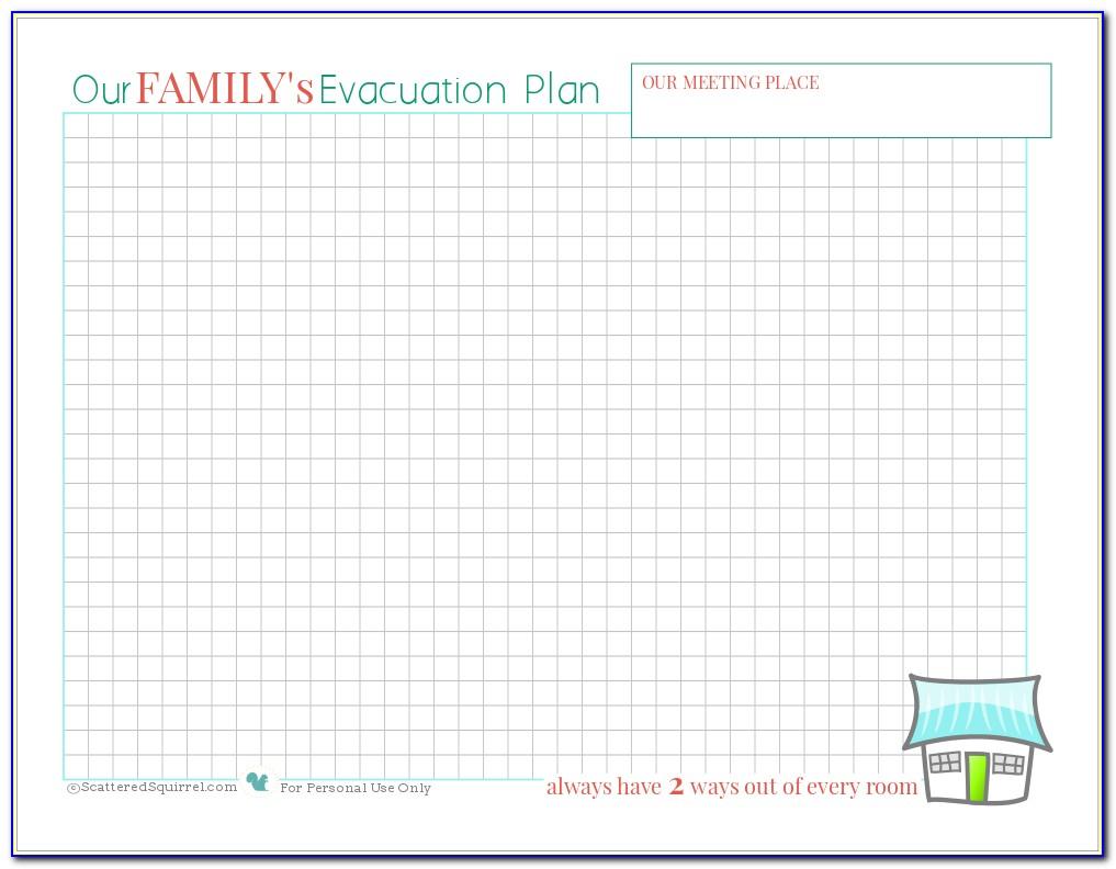 Fire Escape Plan Template Business