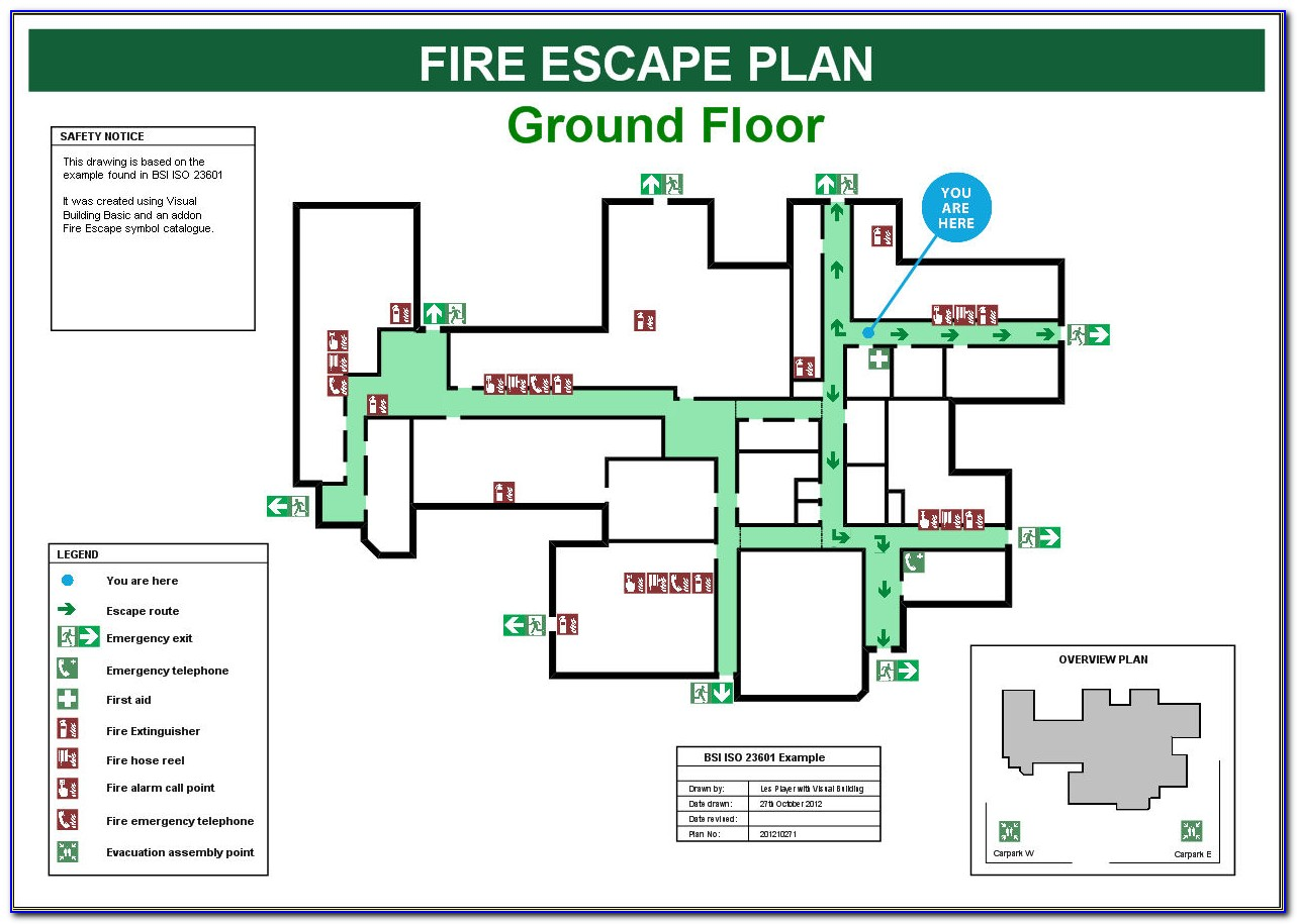 Fire Evacuation Plan Template For Business