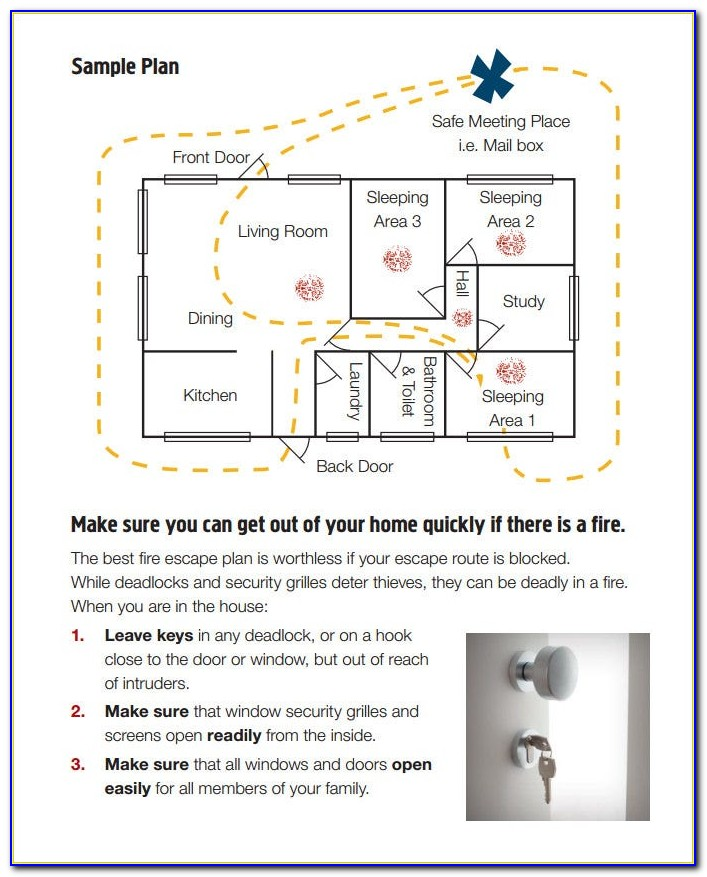 Fire Evacuation Plan Template Nsw