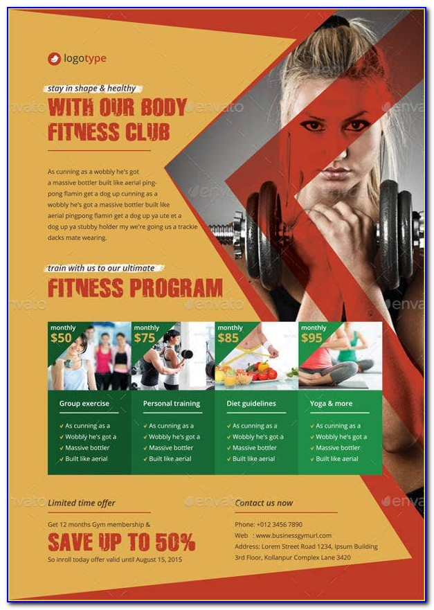 Fitness Club Contract Templates