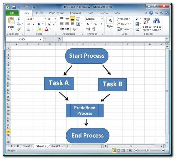 Flowchart Template Microsoft Word 2007