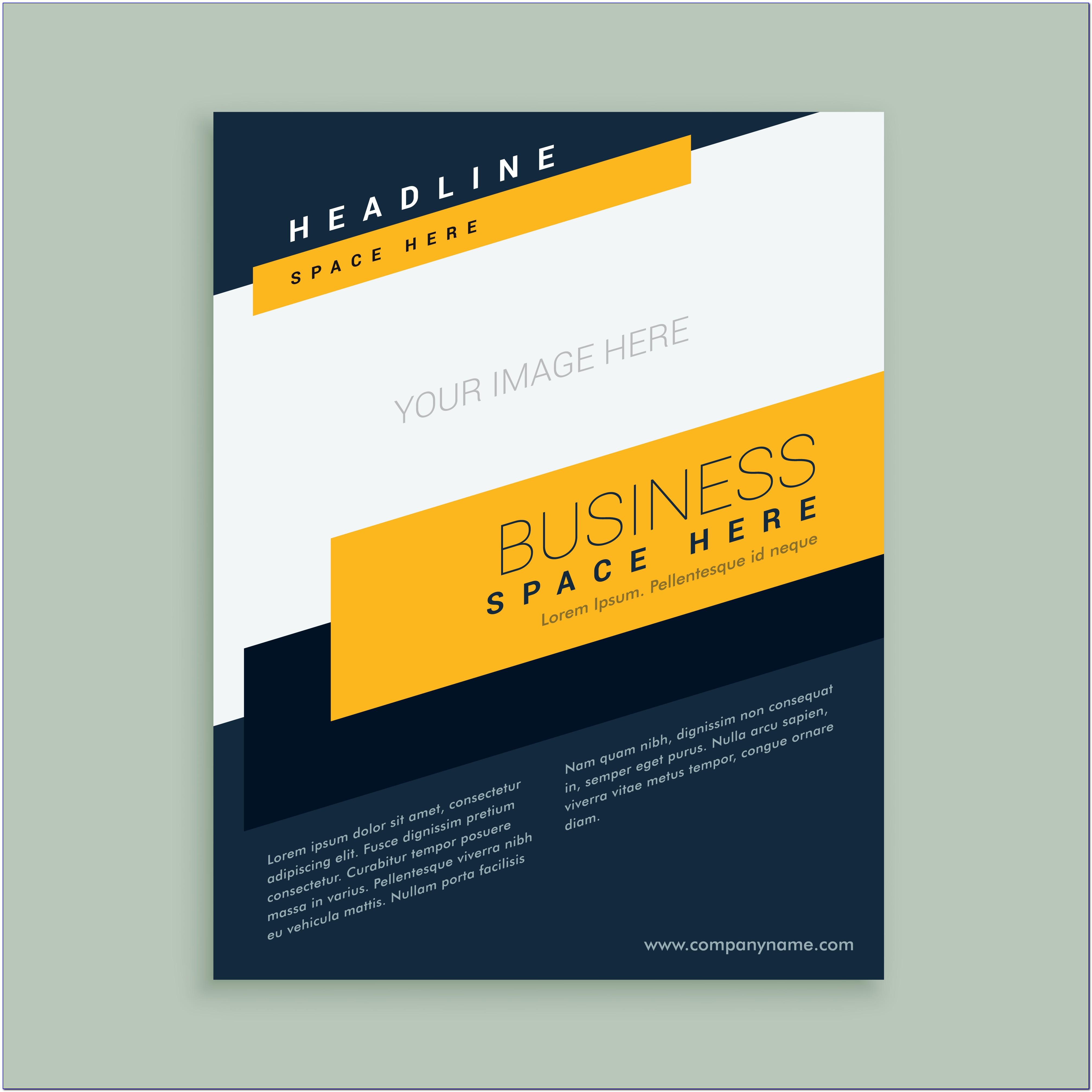 Flyer Template Free Microsoft Word