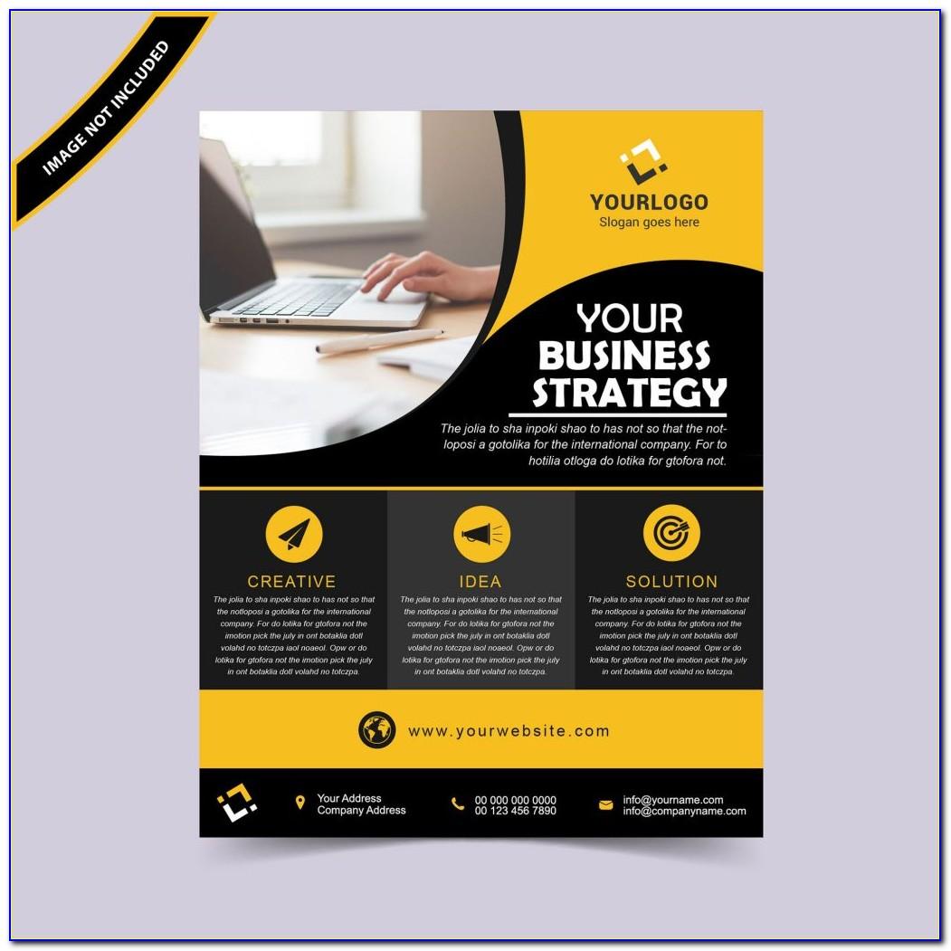 Flyer Vector Design Templates Free Download