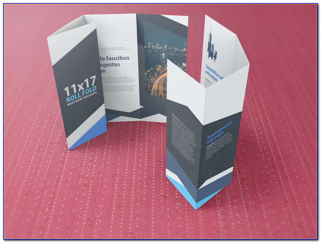 Four Fold Brochure Template Publisher