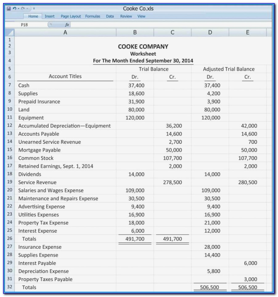 Free Bank Reconciliation Template Excel