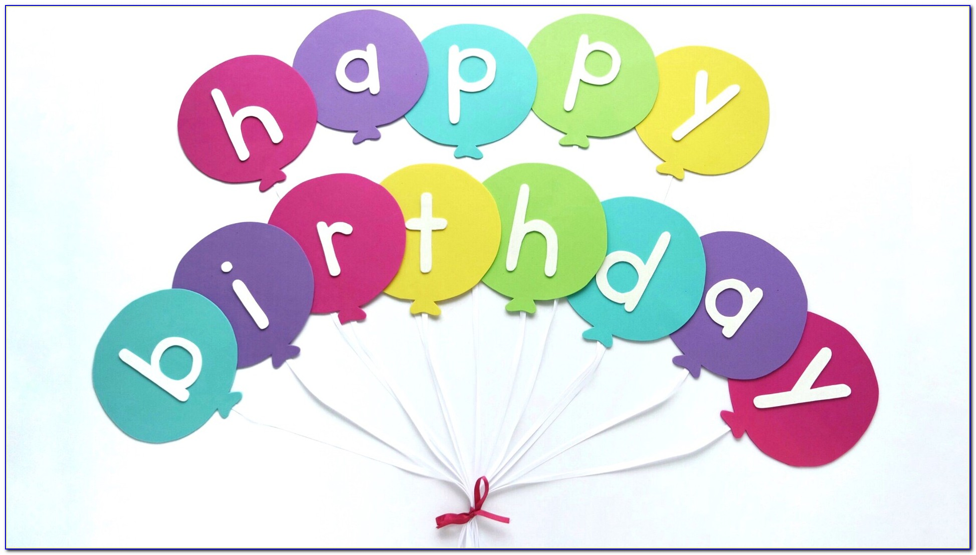 Free Birthday Banner Templates