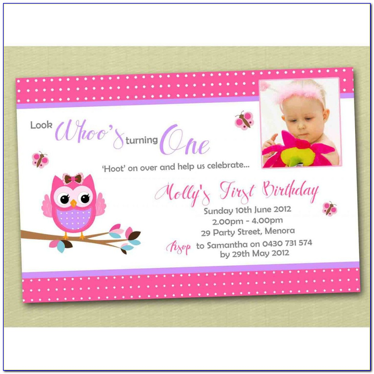 Free Birthday Invitation Card Maker With Photo
