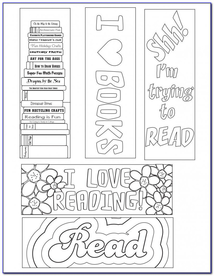 Free Bookmark Templates For Publisher 2010