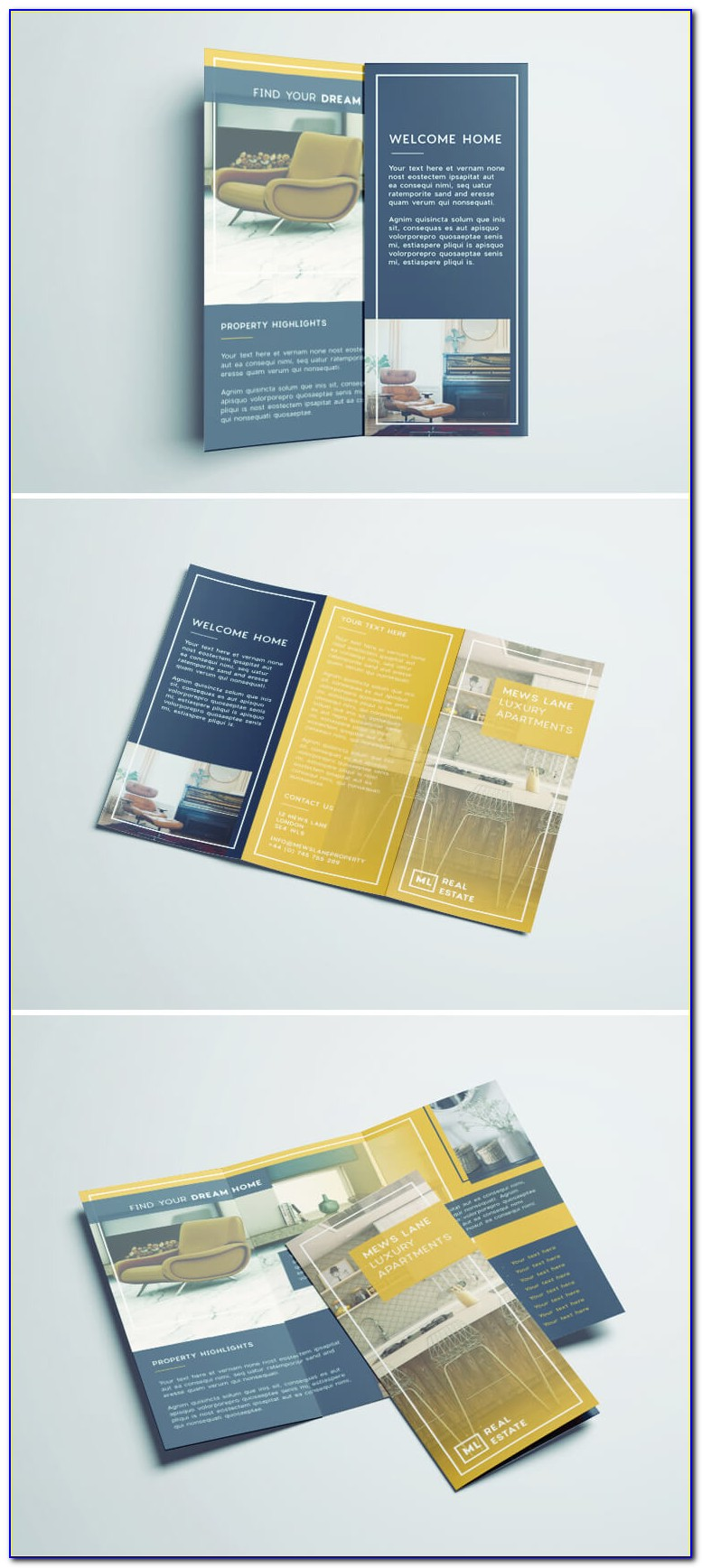 Free Brochure Design Templates Illustrator