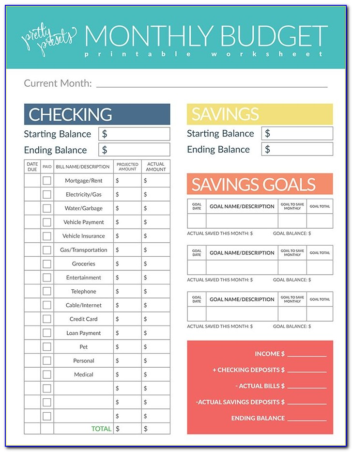Free Budget Presentation Powerpoint Template