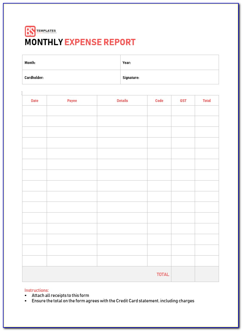 Free Budget Template For Small Business
