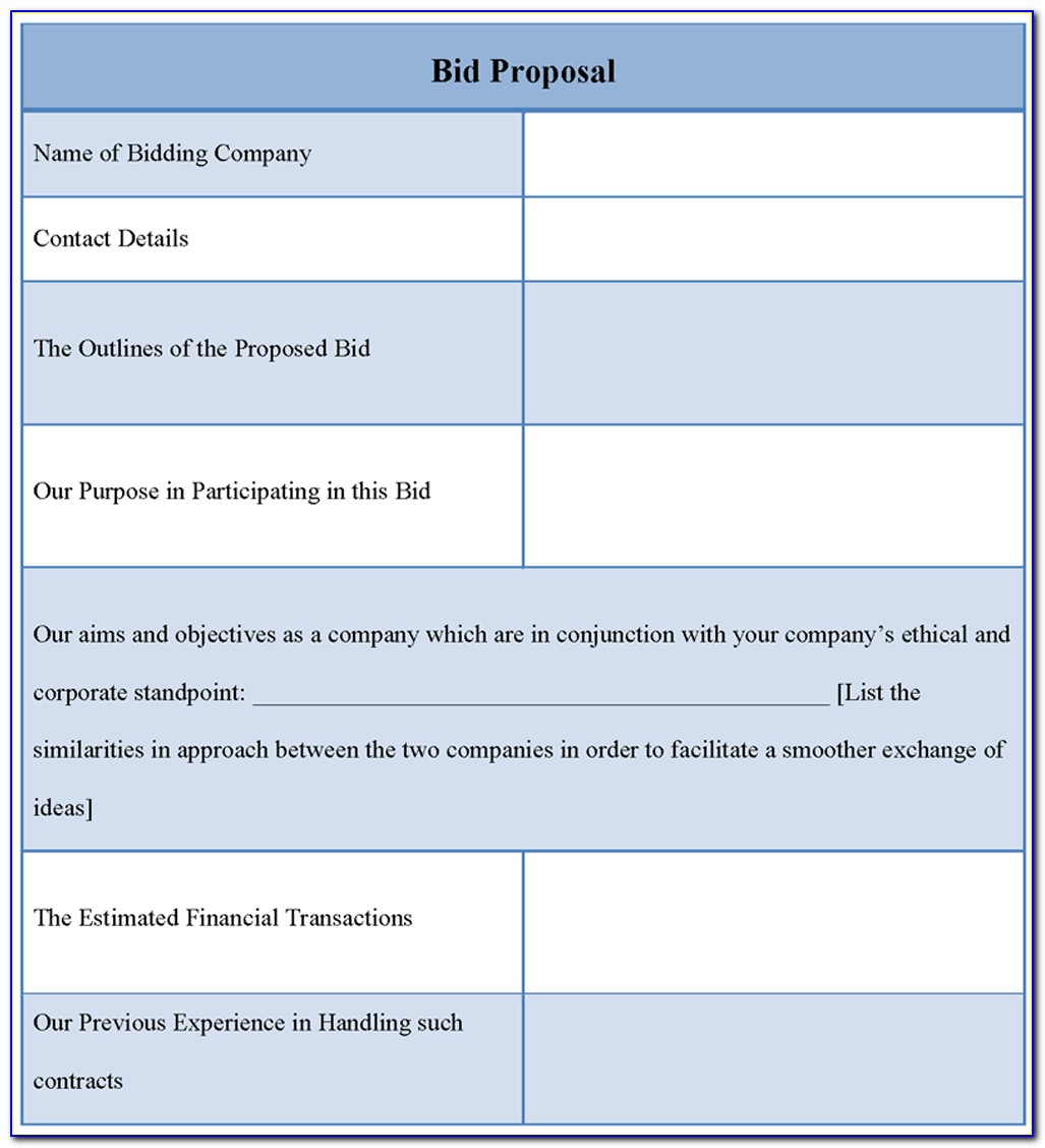 Free Excel Cost Estimate Template