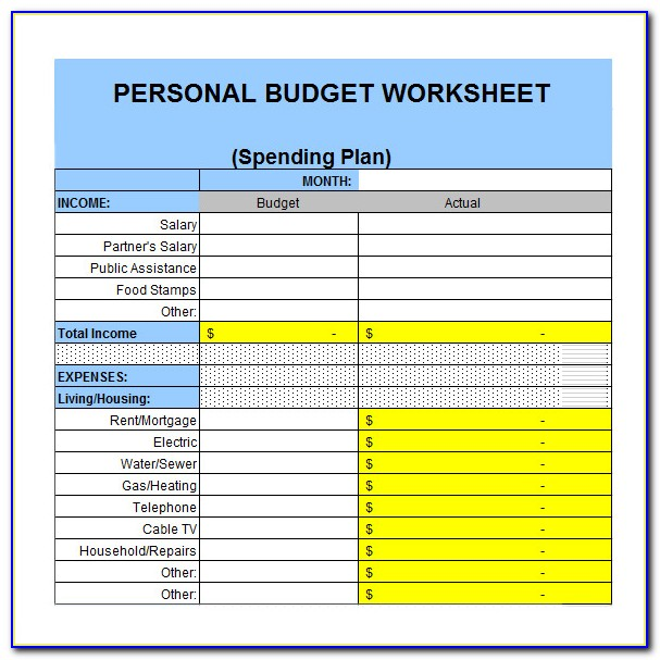 Free Excel Expense Tracking Templates