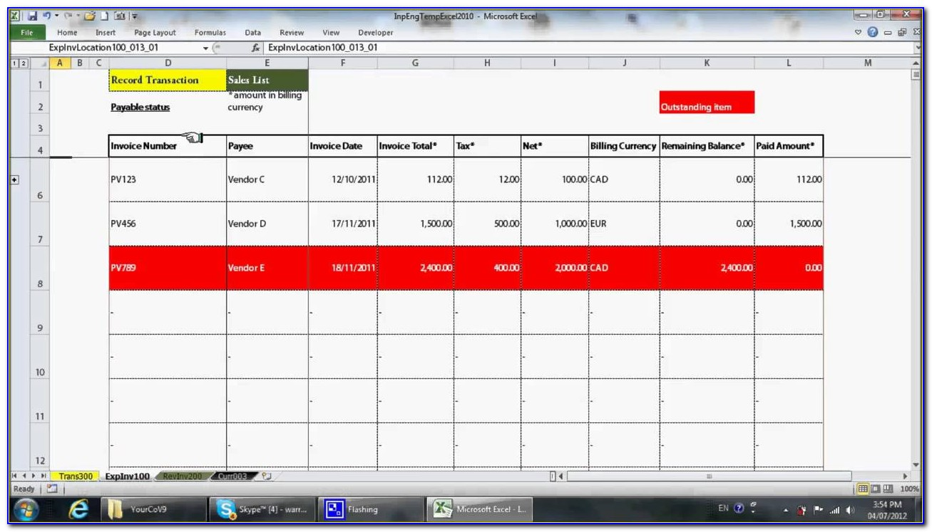 Free Excel Templates For Accounting Small Business