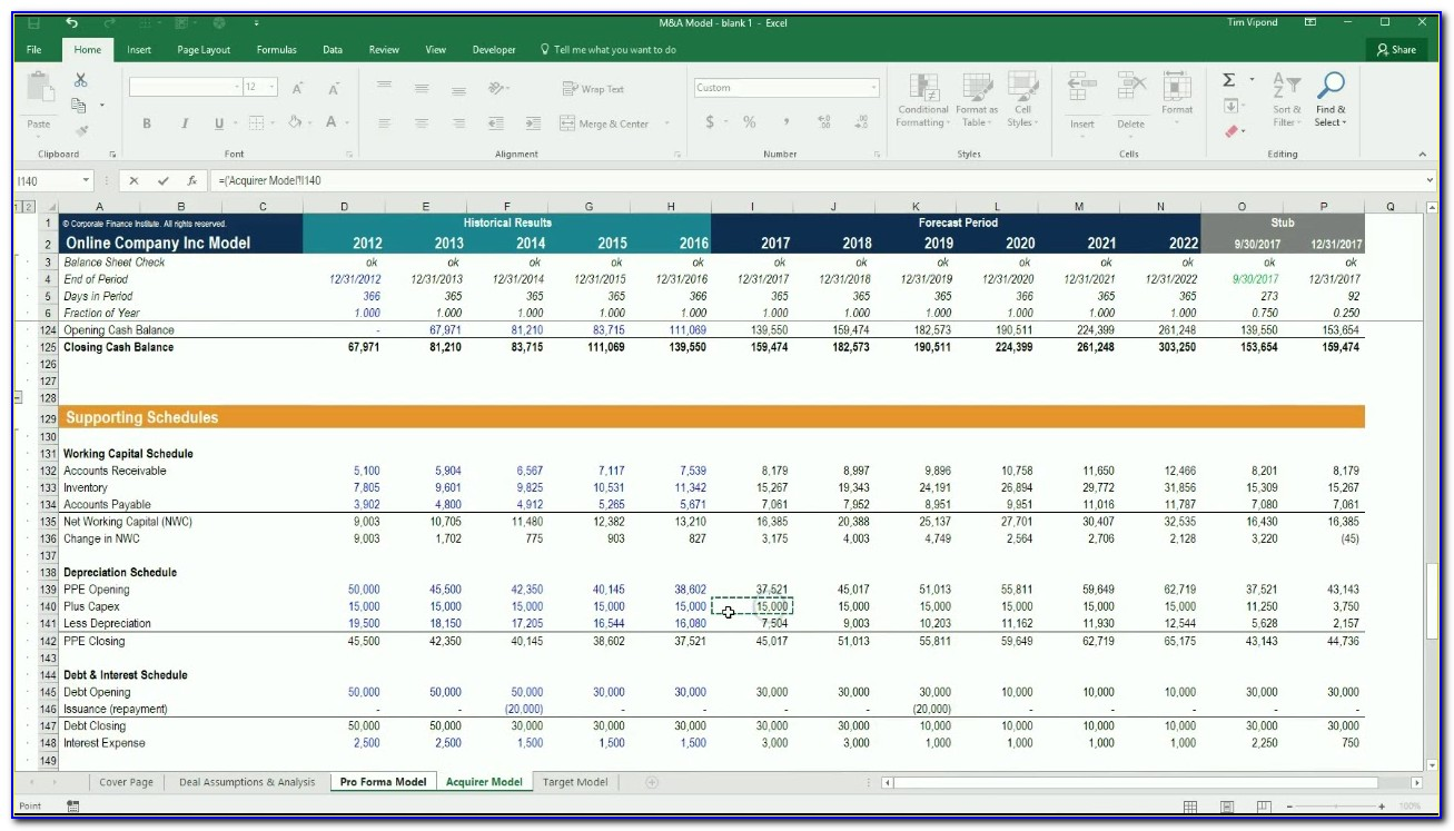 Free Fixed Asset Spreadsheet Template