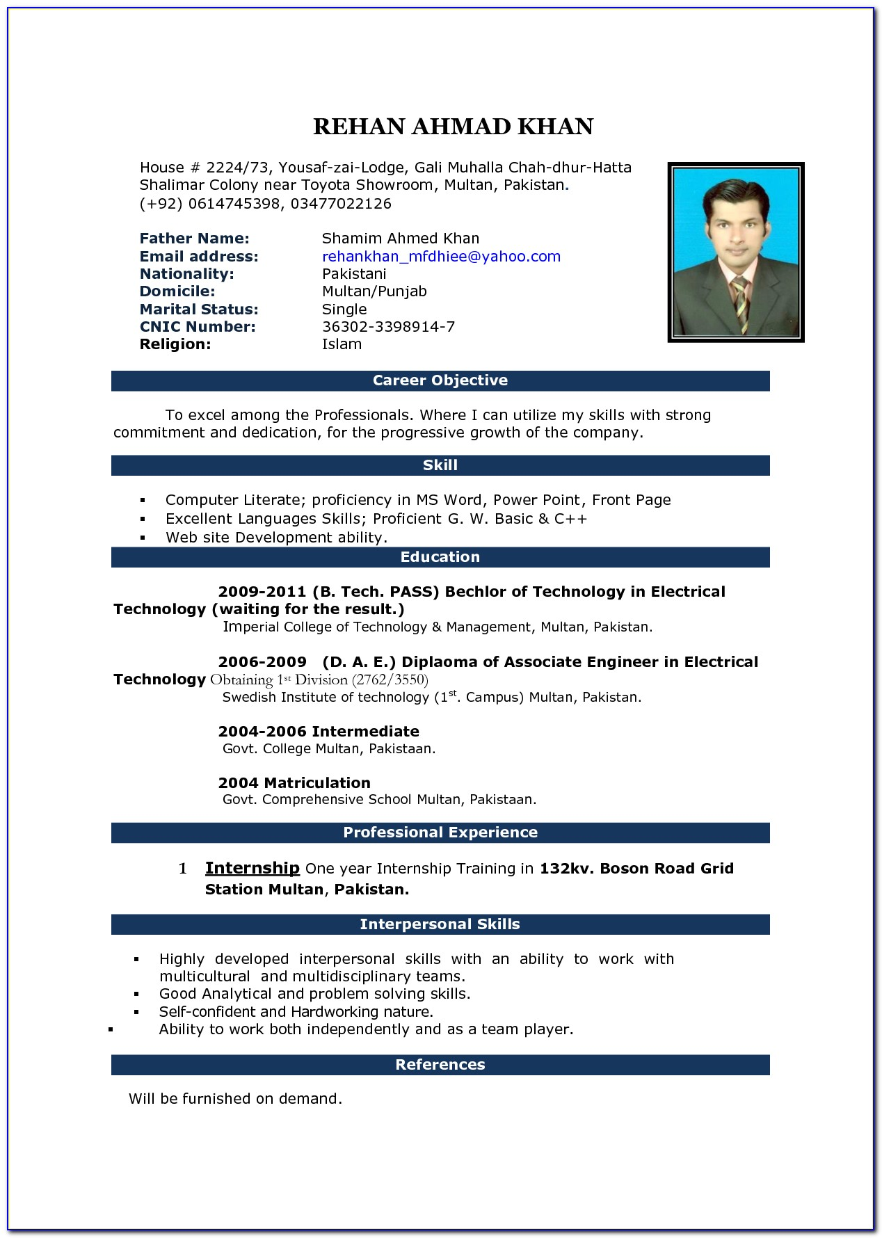 How To Find Resume Format On Microsoft Word 2007