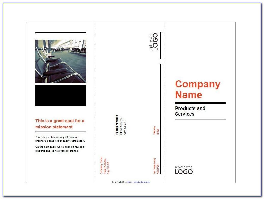 Vector Brochure Layout Design Free Download