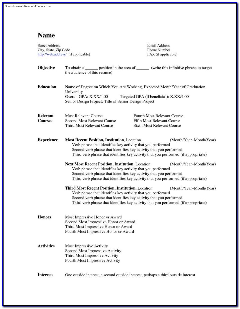 Where To Find Resume Templates In Microsoft Office 2010