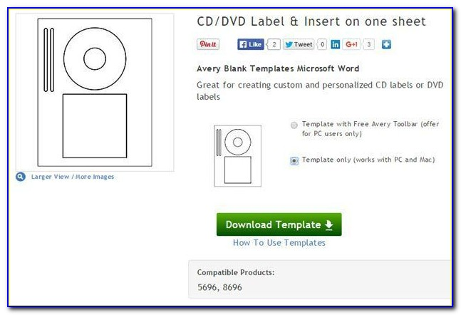 Cd Dvd Labels Word Template