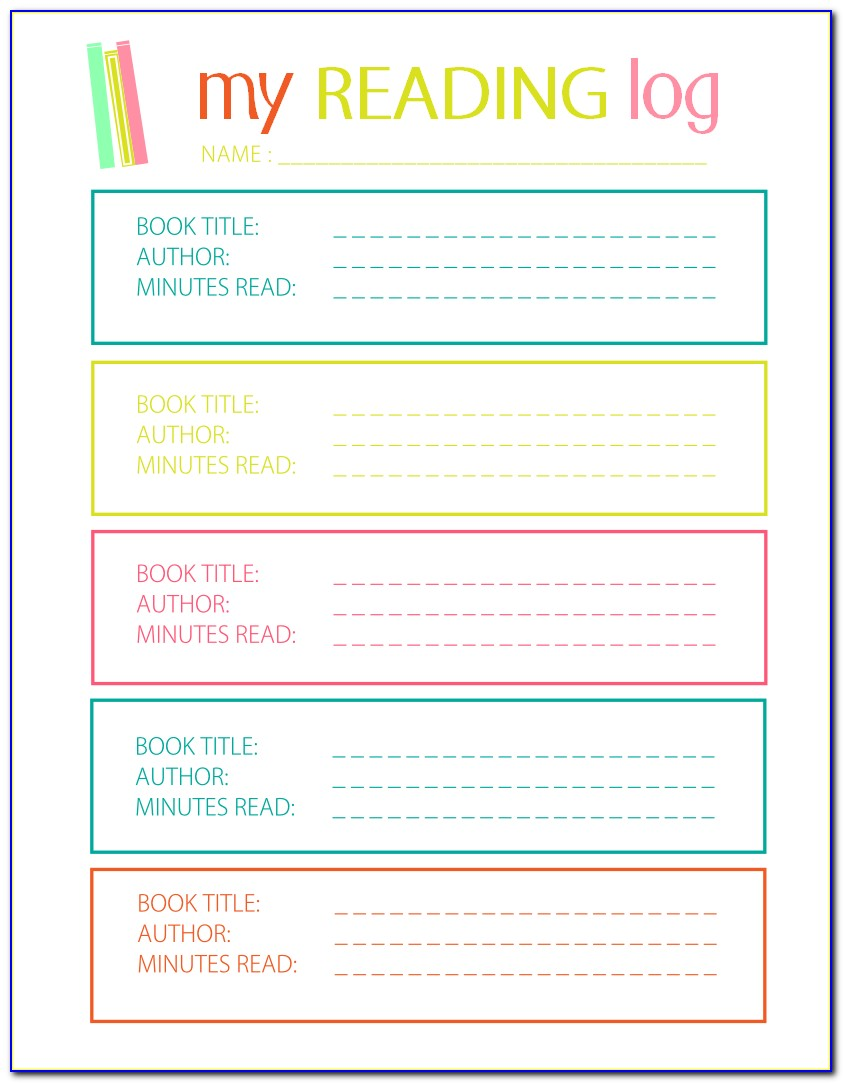 Diary Book Cover Template