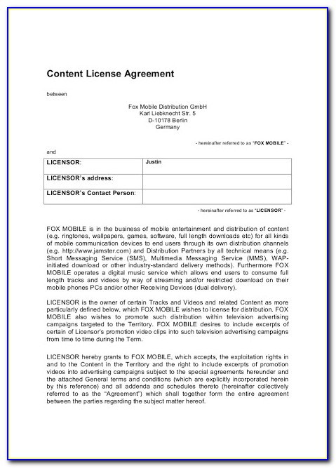 Distributor Agreement Format India