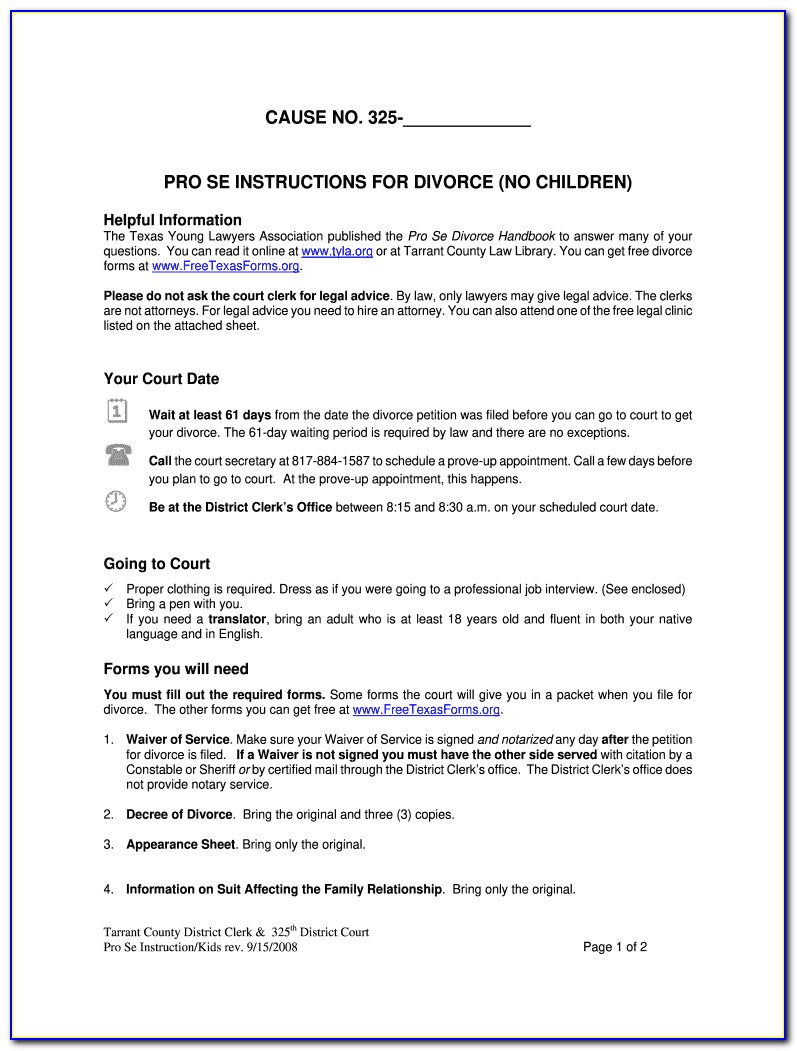 Divorce Agreement Template South Africa