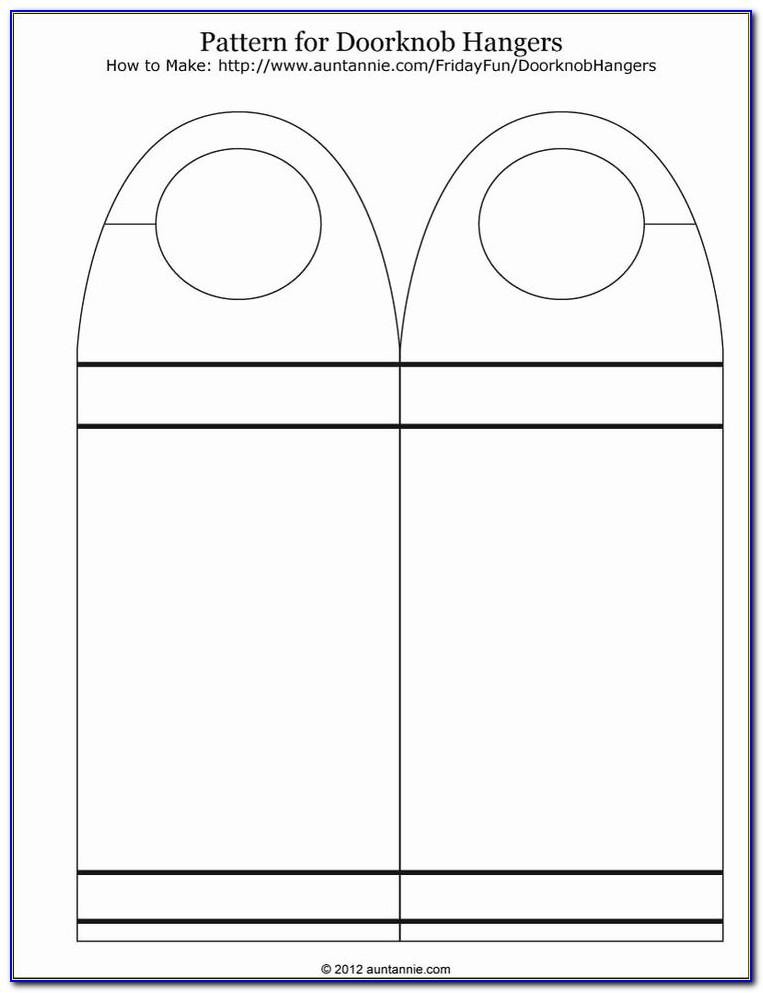 Door Hanger Template For Publisher 2010