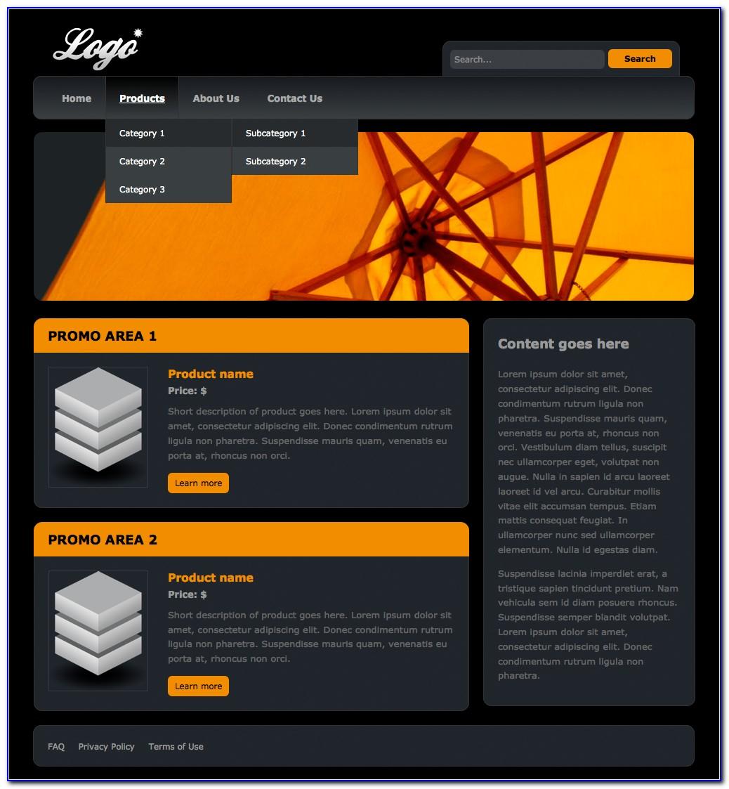 Download Dreamweaver Templates Web Design