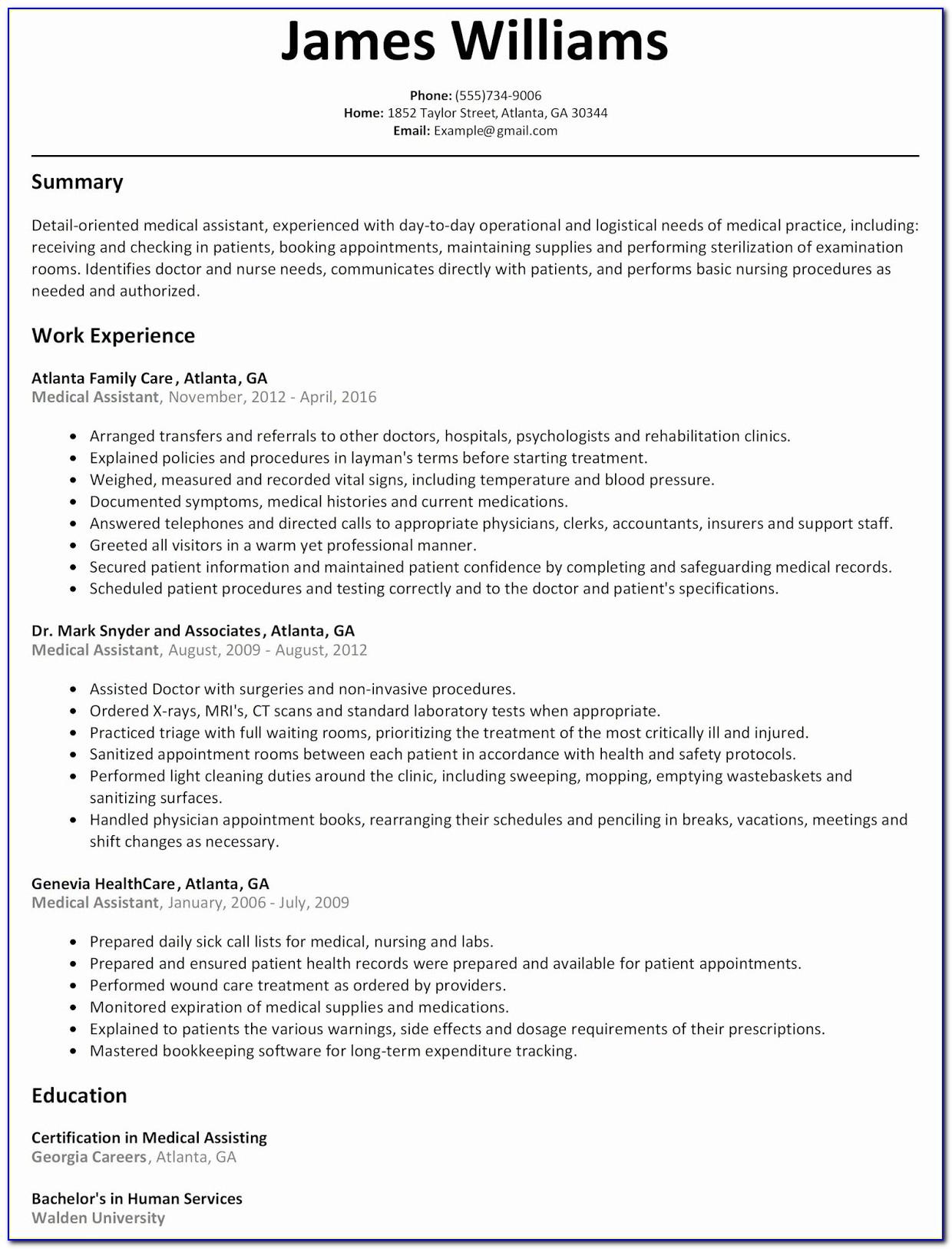 Download Resume Templates Microsoft Word 2010