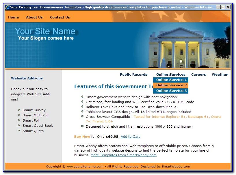 Dreamweaver Cs5 Website Templates Free Download