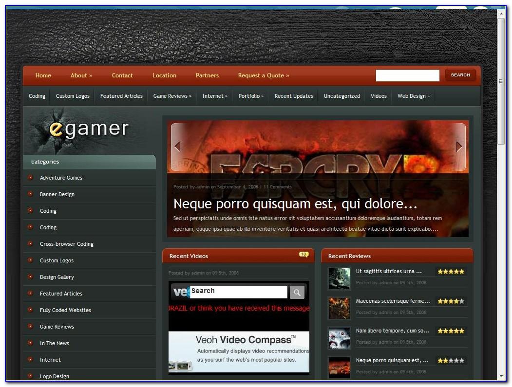 Dreamweaver Web Shop Template Free