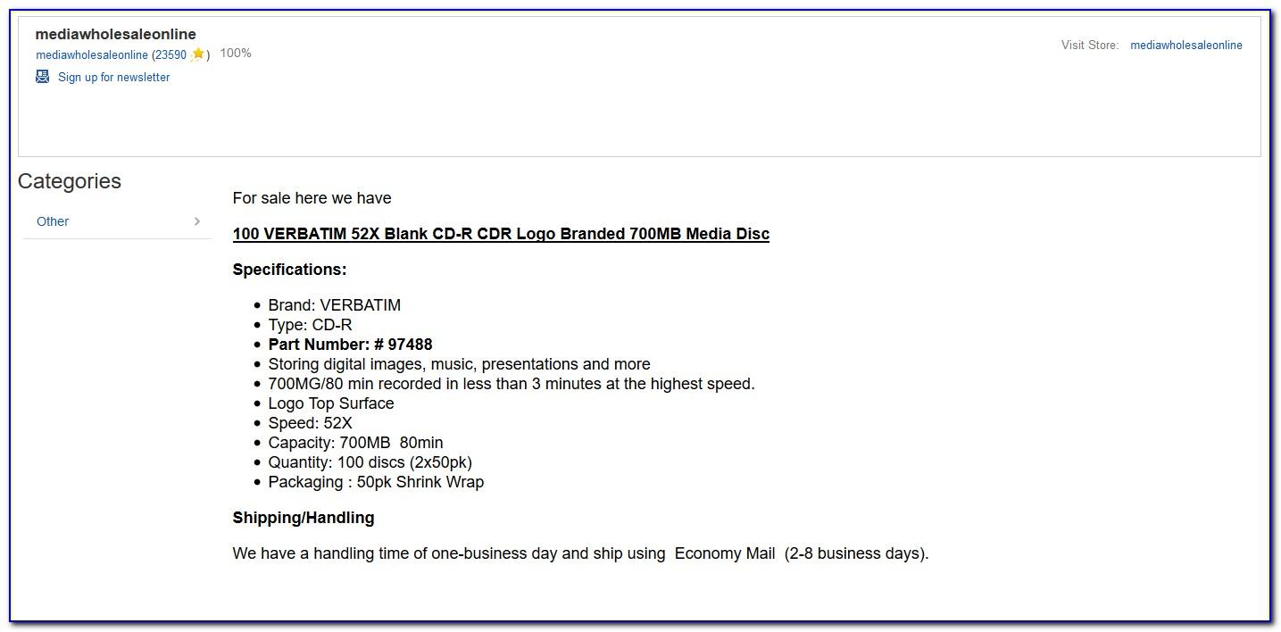 Ebay Invoice Template Software