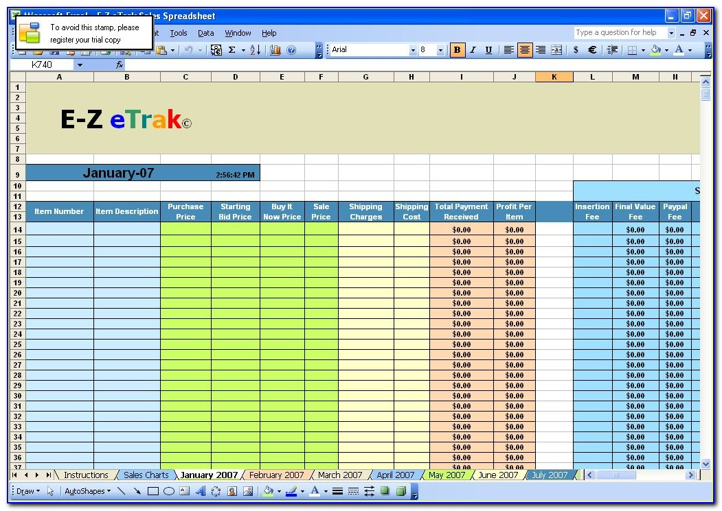 Ebay Seller Invoice Template