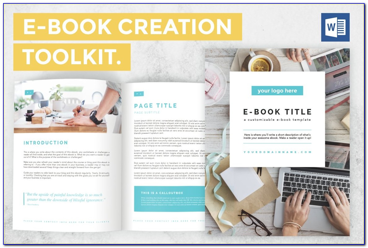 Ebook Cover Template Free