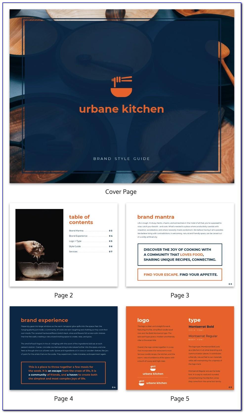 Ebook Design Template Free