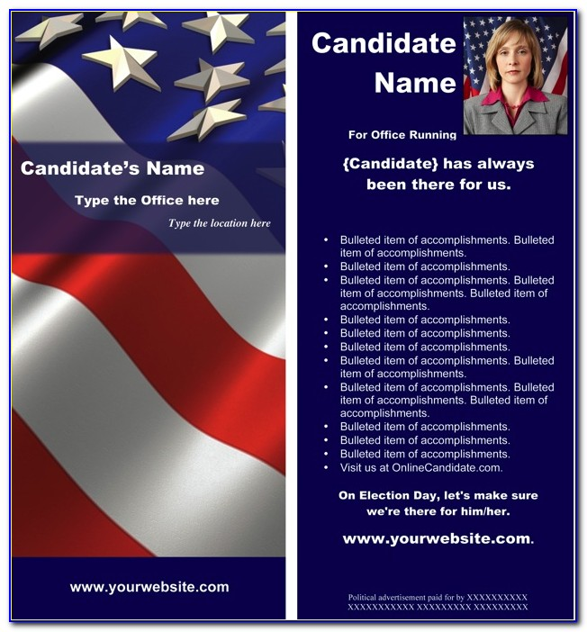 Election Flyer Template Microsoft Word Philippines