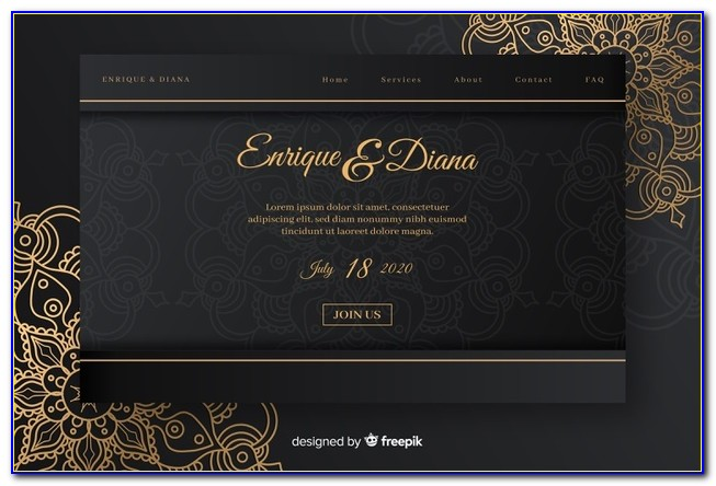 Elegant Christmas Invitations Templates Free