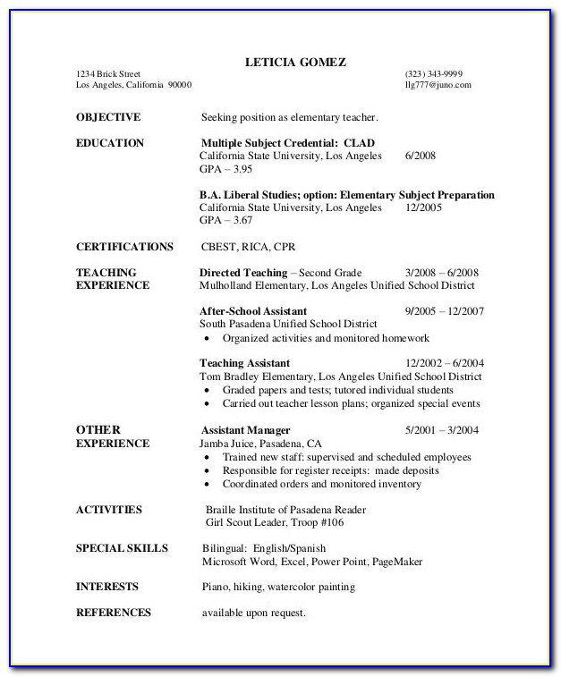 Elementary Physical Education Lesson Plan Template