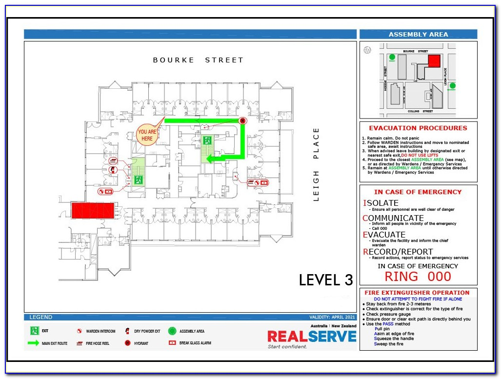Emergency Evacuation Plan Template Nz