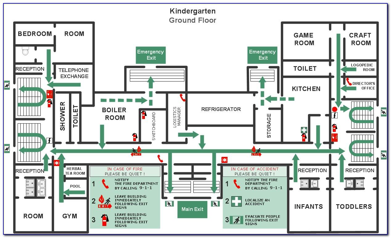Emergency Evacuation Procedure Example Australia