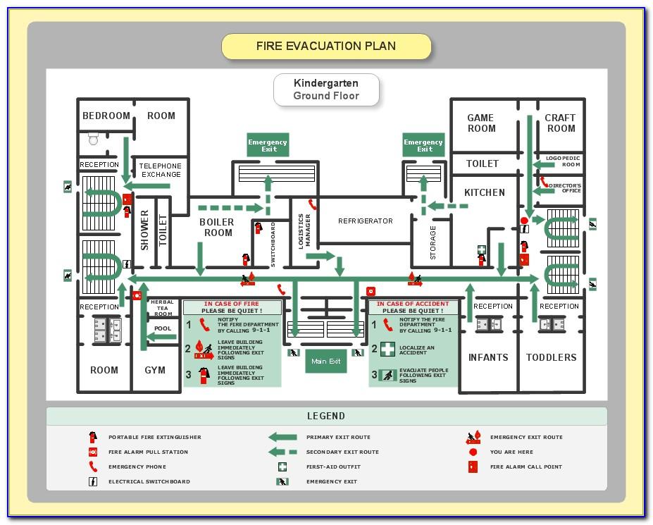 Emergency Evacuation Procedure Example Childcare