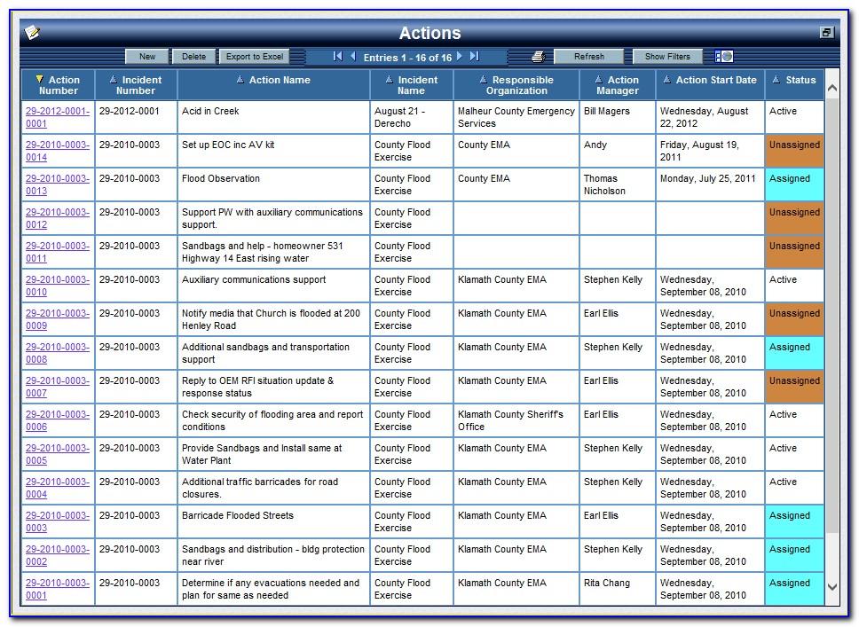 Emergency Preparedness Plan Sample
