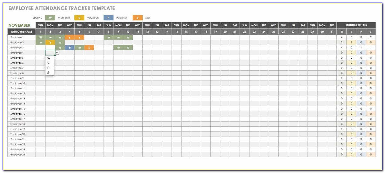 Employee Training Record Template Excel Free