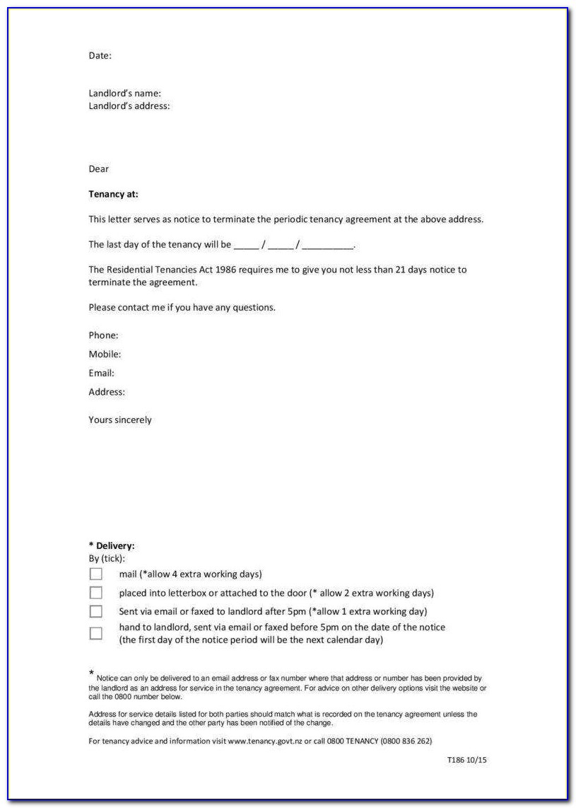 End Of Employment Contract Letter Sample