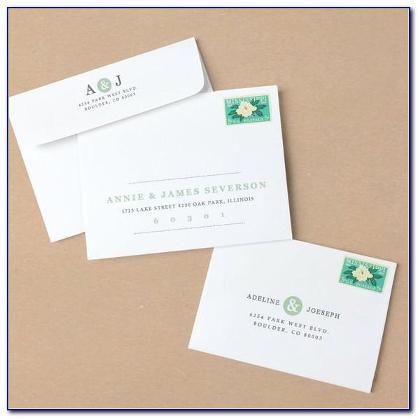 Envelope Printing Template Mac
