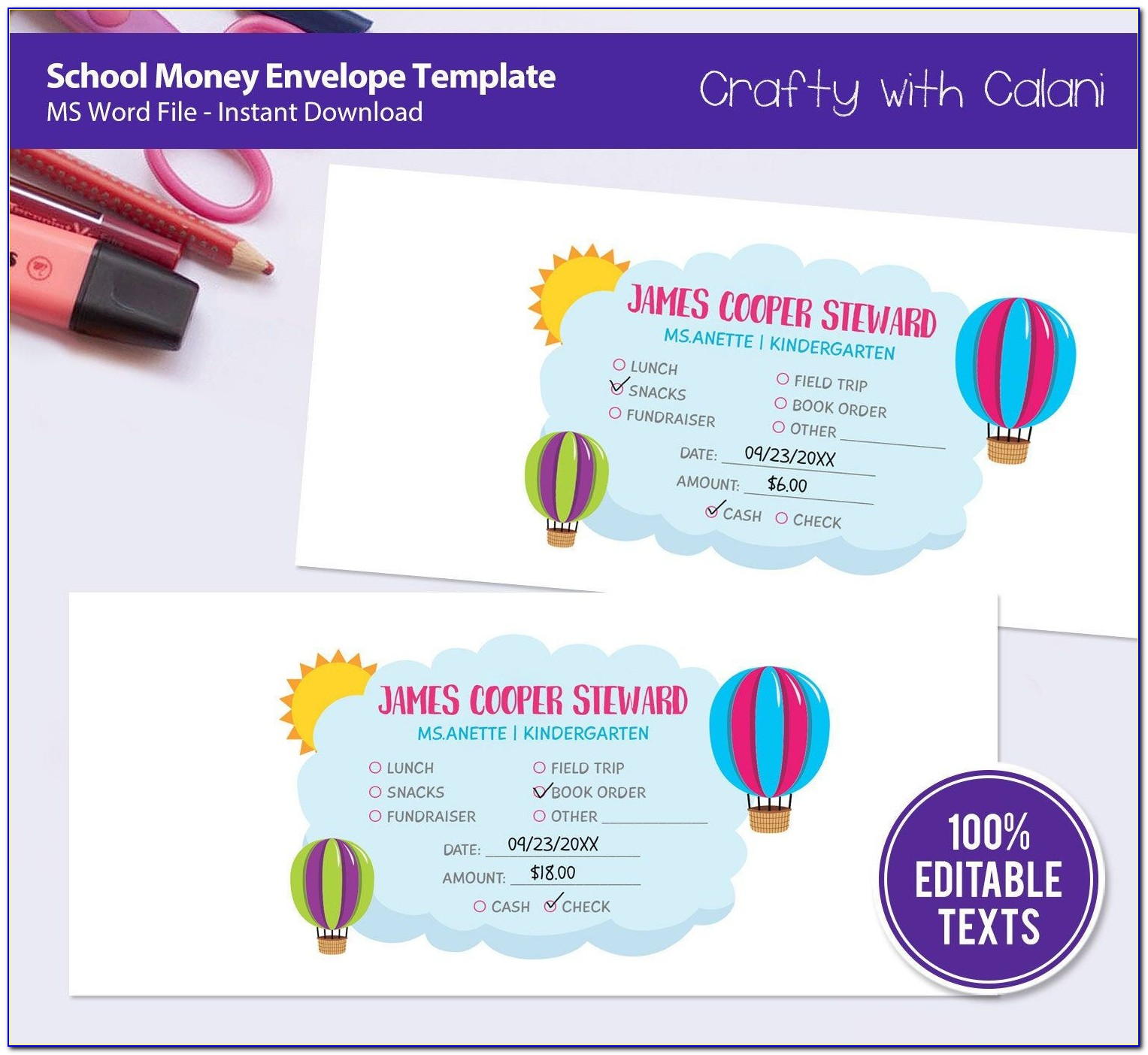 Envelope Template To Print